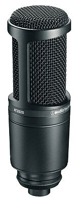 Audio Technica AT2020 Condenser Microphone (NEW)
