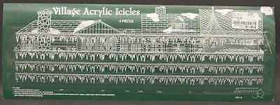 Department 56 GENERAL VILLAGE ACCESSORIES Acrylic Icicles 4250375