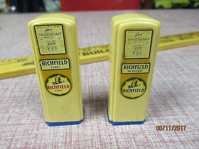 Richfield Gas Oil Salt and Pepper Shakers 1950's York Elizabethtown PA