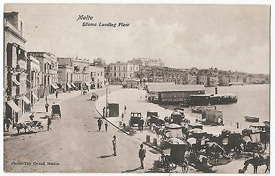 Old Postcard MALTA - 'Silema Landing Place' Early 1900's