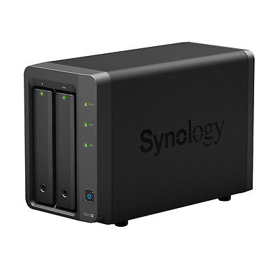 SYNOLOGY DS215+ 2 Bay Network Attached Storage NAS 2x USB3.0 2x Ethernet