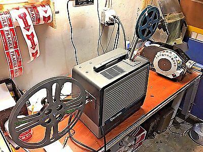 Bell & Howell 16mm Sound Projector 8302 Optical/Magnetic Record/Play Warranty