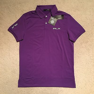 RLX Ralph Lauren Solid Pro-Fit Polo Shirt - Tie Purple Size S-XXL RRP: €99.00