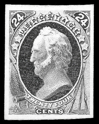 WCstamps: U.S. Scott #164P4 / $30 - 24c Violet Proof, Unused, VF