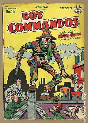 Boy Commandos (1942-1949 1st Series) #15 GD/VG 3.0