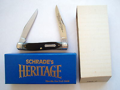 Schrade Usa Made Heritage 7801G  Muskrat Knife