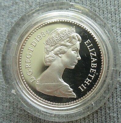 Great Britain 1984 Silver Proof Pound