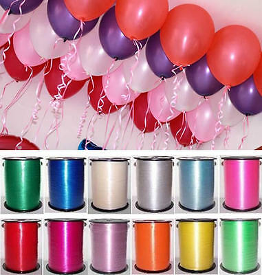 Wedding Favor Gift Wrap Balloon Curling Ribbon Bow 220m Present Birthday Party
