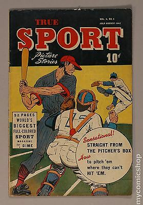 True Sport Picture Stories Vol. 4 (1947) #2 GD+ 2.5