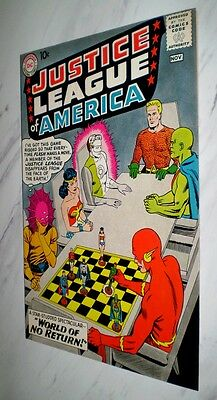 Justice League of America #1 NM+ 9.6 OW pages 1960 DC Silver Age