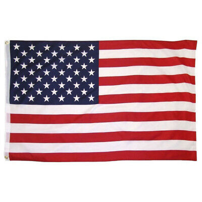 Polyester US Flag American Banner Nation Flags United States Grommets Flags 1pcs