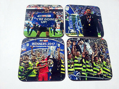 Huddersfield Town Championship Play Off Winners 2017 COASTER SET