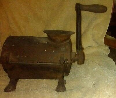 Antique Very Unusual Cast Iron Grinder for Making Sausage