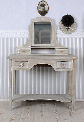 Alps Dressing Table Dressing Table & Mirror Cabin Fever Wood Console Vintage