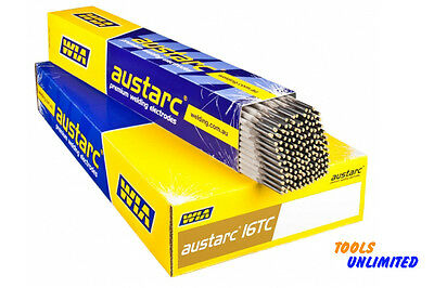 2.5mm X 2.5 Kg pack of WIA Austarc 16TC Low hydrogen Welding Electrodes   16TC25