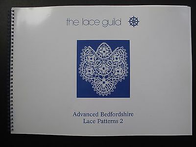 ADVANCED BEDFORDSHIRE LACE PATTERNS 2 by ANN DAY & MARGARET TITE - LACE GUILD