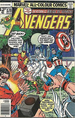 AVENGERS (1966) #170 Back Issue (S)