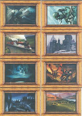 Harry Potter Goblet Of Fire UK Exclusive Factory Set 8 Card Canvas Chase Set