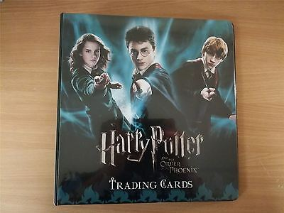Harry Potter & The Order Of The Phoenix Update Official Artbox Binder