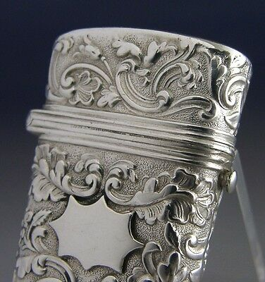 Beautiful Georgian Sterling Silver Etui Case 1836 Antique Joseph Willmore