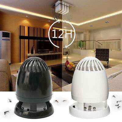 5W LED Electric Mosquito Zapper Killer Lamp Light Fly Insect Bug Trap USB Indoor