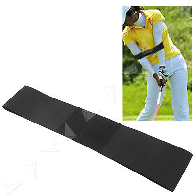 Black Swing Golf Power Band Training Aid Training Straight Practice Elbow Brace