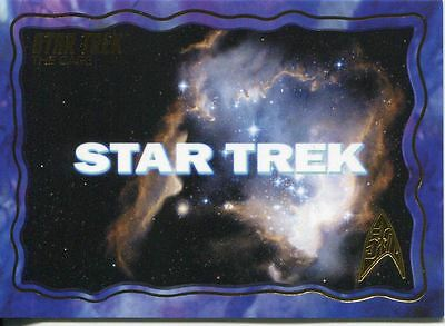 Star Trek 50th Anniversary Complete 70 Card The Cage Chase Set