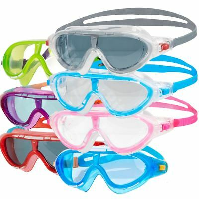 Speedo Rift Kids Swimming Goggles Mask Anti-fog Lens Junior Age 6-14