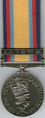 Gulf War I Medal with clasp Copy