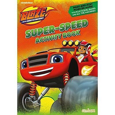Blaze and the Monster Machines Super Speed Activity Book