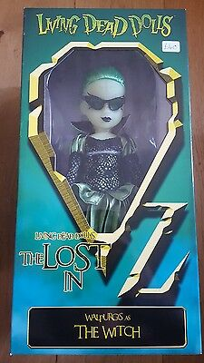 living dead doll lost in oz walpurgis as witch sealed