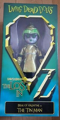*BRIDE OF VALENTINE AS THE TIN MAN* Living Dead Dolls The Lost In Oz (27cm)