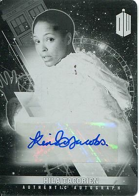 Doctor Who Timeless Printing Plate Autograph Card Kemi-Bo Jacobs