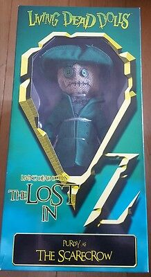 Living Dead Dolls Lost in Oz Purdy as The Scarecrow new