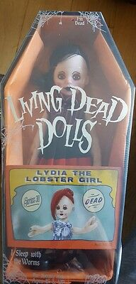 Living Dead Dolls Series 30 Lydia The Lobster Girl Mezco NEW