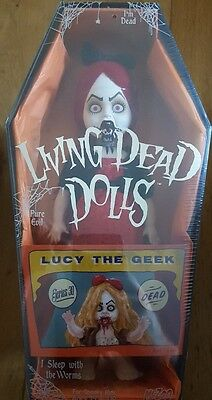 Living Dead Dolls Lucy the Geek bnib new sealed