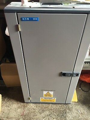Eaton MEM Memshield 2 12 Way 3 Phase Distribution Board Bm121 With Main Switch