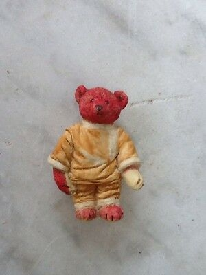 ALFONZO Teddy Bears Of Witney New Boxed Ornament. Slight Damage.