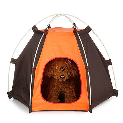 Waterproof Folding Portable Folding Pet Tent Dogs Cats Bed House Outdoor Indoor