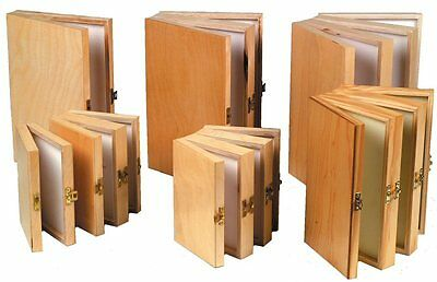NEW Wooden Pocket Fly Boxes Fly Fishing Accessories Single, Double and Triple