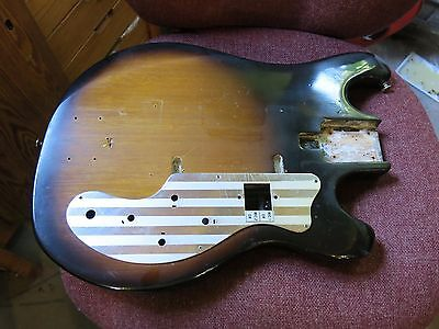 VINTAGE 1960's TEISCO JAPAN ELECTRIC GUITAR BODY PROJECT