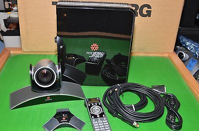 Polycom HDX 8000 with MPTZ-6 Eagle HD Camera Complete Video Conference System