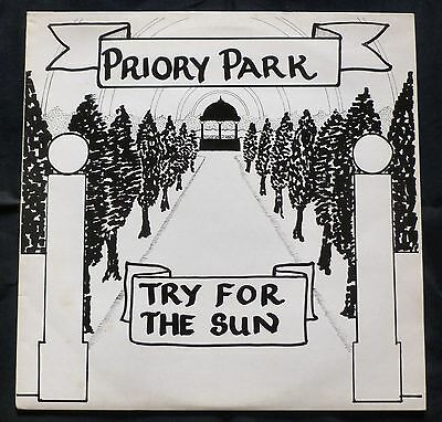 PRIORY PARK try for the sun WILD DOG LP 70s English Folk - Rare n/mint