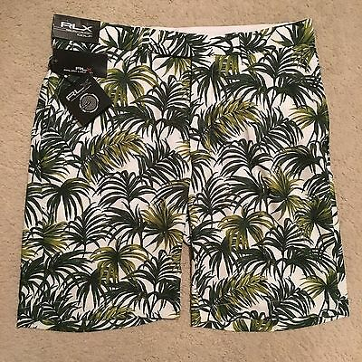 RLX Ralph Lauren Open Golf Greens Shorts - Palm Green Most Sizes RRP: £95.00