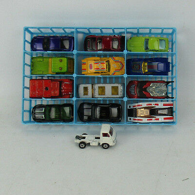 13 Vintage Matchbox Hot Wheels Cars With Tray Lot 3