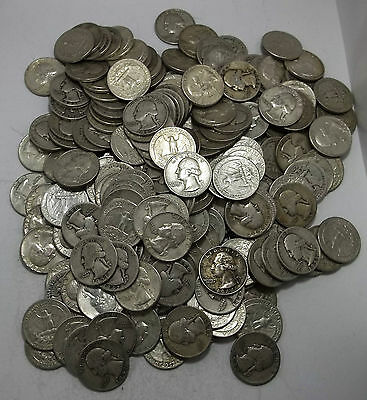 90% Silver Coins!-$10 Face Value Roll-Quarters-Bullion!
