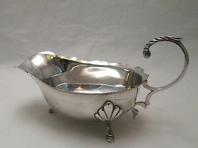 A Silver Plated Sauce Boat / Gravy Boat - early 20th Century