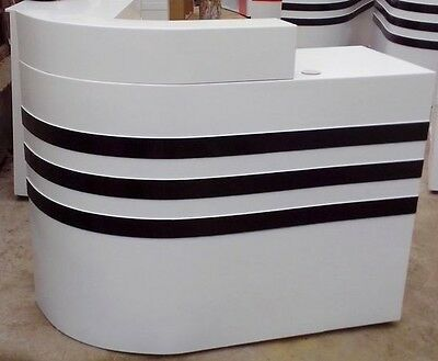 1X Reception Desk Front Counter 1.2Meter Rightside Corner
