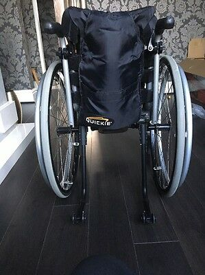 Quickie Xenon Wheelchair Pre-Loved Self Propelling