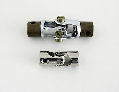 Meccano Exacto Compact Short Narrow Universal Coupling Joint Shaft UJ Axle 4mm.